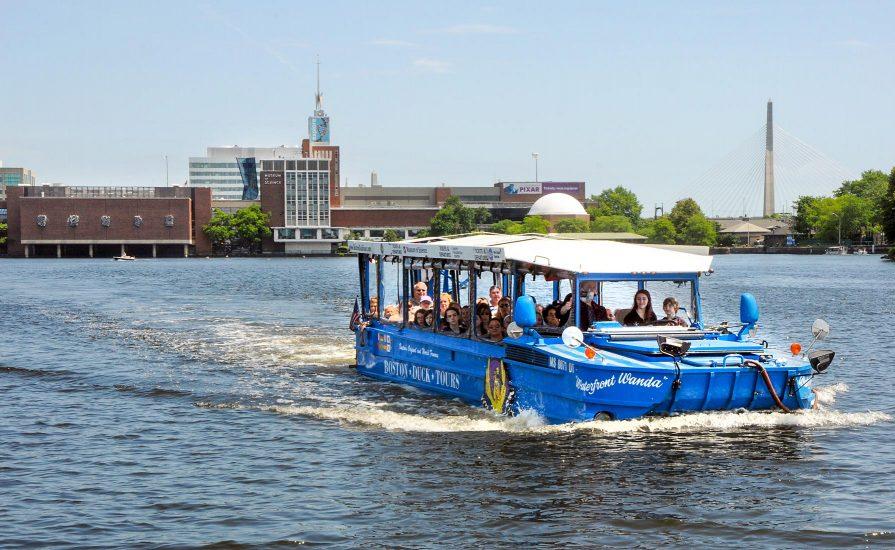 Tour Sites Map Boston Duck Tours